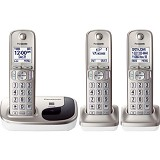 PANASONIC Cordless Phone [KX-TGD213] - Silver - Wireless Phone